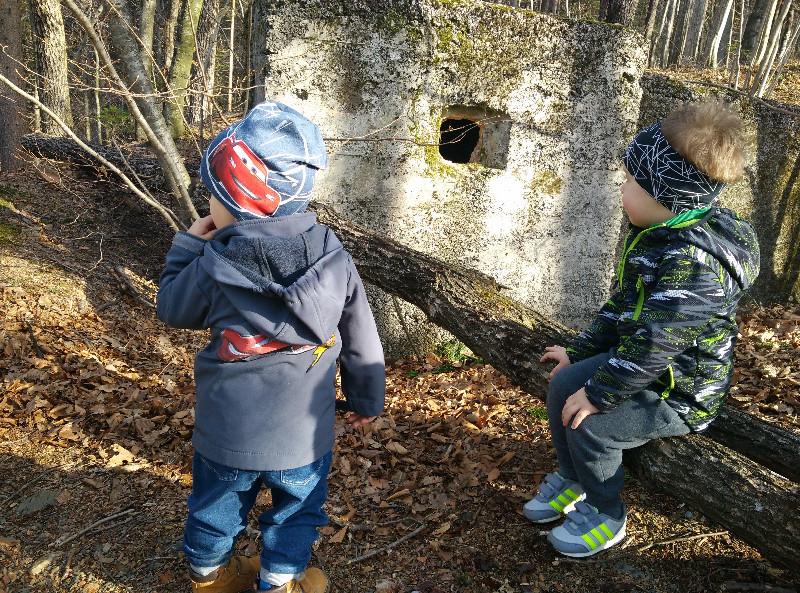 bunker-v-gozdu